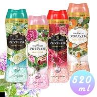 日本 P&G 香香豆 衣物芳香顆粒 520ml 四種香氣 箱購6入組