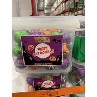 好市多 JACQUOT 萬聖節 造型 巧克力桶 900克 萬聖節 限定