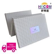 HECOM Single Size Foldable Soft Mattress(3-fold)Free Delivery!