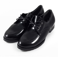小尖頭綁帶學生鞋 黑 女鞋 鞋全家福