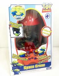 【Fun心玩】DS13853 麗嬰 日本 多美 TOMY 迪士尼 皮克斯 TS4 三眼怪抓抓機(內附6公仔) 三眼怪火箭 娃娃機 夾娃娃 收藏