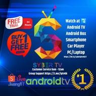 SYBERTV/IGO IPTV/ANDROID/LIFETIME IPTV/FREE TRIAL/IPTV