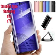 IGS Flip Cover Mirror Standing samsung A51 a71 Case Smart View