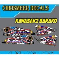 kawasaki Barako charama decals