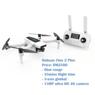 Hubsan Zino 2 Plus COMBO With 13megapixel 4K Camera 9KM GPS Brushless Altitude Hold RC Drone Quadcopter RTF