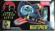 [TK 46]如圖全新品 蝙蝠俠 Batman Animated 1995 Kenner Nightsphere