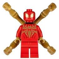 LEGO 樂高 超級英雄人偶 sh193 鋼鐵蜘蛛侠 Iron Spider 76037