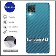 PROMO Garskin Samsung A12 / Samsung A02s Skin Carbon Samsung Galaxy A12 / Samsung Galaxy A02s
