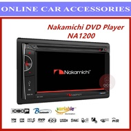 "Nakamichi NA1200 6.2"""" DVD/USB Player With Bluetooth"