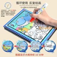 新品節能環保清水畫布兒童玩具畫板可重復使用通用神奇魔法水畫。855603
