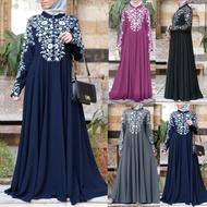 jubah muslimah 2021 dress women casual fashion baju raya murah plus size 5xl