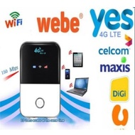4G Lte Pocket Wifi Router Hotspot With Sim Card Slot