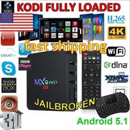 2018 NEW MXQ PRO Android 7.1 4K 2G+16G WiFi S905W Quad Core Network 4K Smart TV Box with I8 Keyboard