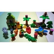 二手樂高得寶 Lego duplo叢林系列