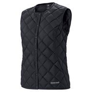 MONT-BELL	Superior Down Vest Women's  女款 圓領羽絨背心 800FP	1101506BK	J125	【Happy Outdoor 花蓮遊遍天下】