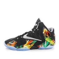 Nike Lebron XI [616175-006] 男鞋 運動 籃球  黑 綠