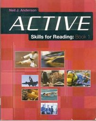 《ACTIVE SKILLS FOR READING:BOOK 1》ISBN:0838426026│平裝本│七成新
