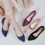 รองเท้าคัชชู รองเท้าทำงานหญิง รองเท้าออกงานผู้หญิง ใรองเท้าแฟชั่นผญ รองเท้าส้นสูง รองเท้าเสริมส้น GM043