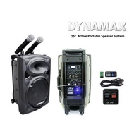 DYNAMAX PRO150 15 inch Active Portable Speaker System