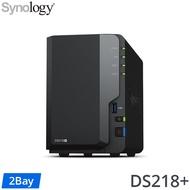[五年保Seagate IronWolf Pro 14TB*2] Synology DS218+ 2Bay NAS