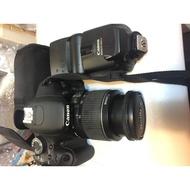 二手入門單眼+離閃閃光Canon 600D+430EXII可小議