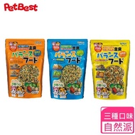 【Pet Best】Pet Best 自然派倉鼠主食(倉鼠 黃金鼠 寵物鼠 營養飼料 骨骼強化 護膚亮毛 高蛋白質)