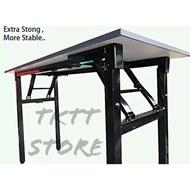 ✢☑♛TKTT 3V 2x6 Feet Laminated Wood Top Banquet Table Folding Function Meja Lipat Serbaguna