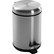 《VERSA》不鏽鋼腳踏式垃圾桶(銀3L)