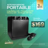 AC Ryan Karaoke Boombox+ - Portable Karaoke Amplifier