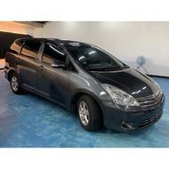 正2008年 Toyota Wish 雲河灰 省油省稅國民代步車 實車實價只要17.8萬 非自售一手車