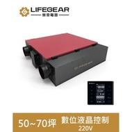 【樂奇】HRV-350GH2 變頻全熱交換機(數位液晶控制-220V)