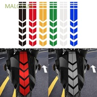 MALCOLM Personality Reflective Sticker Creative Motorcycle Accessories Motorcycle Sticker Waterproof Reflective Tape Reflector Fender Decor Funny Safety Warning Fender Sticker/Multicolor