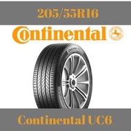 【2PCS RM600】205/55R16 Continental UC6 *Clearance Year2018