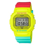 Casio G-Shock DW-5600CMA-9DR Digital Quartz Yellow Resin Mens Watch