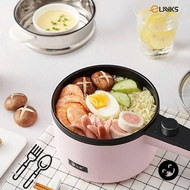 Elayks Portable Mini Electric Stainless Steel Multifunction Non Stick Steamer Rice cooker