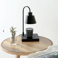 POUH【限時免運】韓國設計 可調光白臘木蠟燭檯燈 蠟燭暖燈 融蠟燈 暖燭燈 香氛蠟燭 居家香氛 黑色