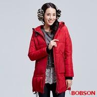 BOBSON 女款長版羽絨外套 (35110-16)