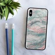石紋雲石水亮面手機殼iPhone 12 Pro XR Max Samsung紅米小米華為