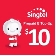 Singtel Prepaid eTopUp SGD10