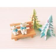 光和盆子∞環保系【暖暖北極熊XS】ZAKKA 雜貨 仰望天空 擺飾 鄉村 療癒小物  動物 環保 北極熊 可愛 佈置