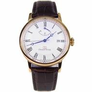BNIB Orient Star Automatic Classic Roman Watch White Dial leather strap Man Watch EL09002W