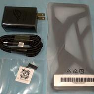 Asus ROG Phone II ZS660KL 華碩原廠保護殼、充電組、風扇 rog2 充電器