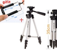 High Quality WT-3110 Tripod stand With 3-Way Head Tripod + Bag for Camera mobile phone