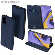 DUX DUCIS Leather Case Samsung Galaxy A51 A 51 Magnetic Flip Cover