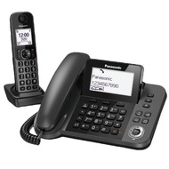 2組入【Panasonic 國際牌】KX-TGF310TWJ 親子機 DECT數位無線電話(日本製造 公司貨保固二年)