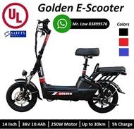 UL2272 Golden Kido Electric Scooter LTA Compliance