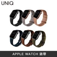 UNIQ | APPLE Watch  | Mondain不銹鋼超柔軟真皮革錶帶 watch錶帶