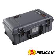 美國 PELICAN 1535TRVL Air 輪座拉桿超輕氣密箱-(灰)