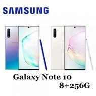 全新未拆 SAMSUNG 三星 Note 10 256G 雙卡 星環銀 白 Note10 台灣公司貨保固1年 高雄可面交