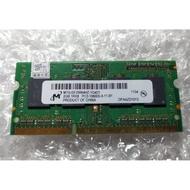 美光 筆電記憶體 2GB  DDR3 1333MHz